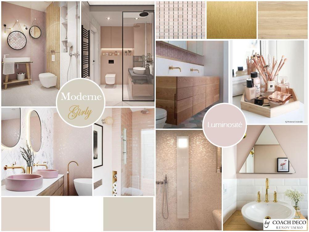 planche tendance pour une salle de bain