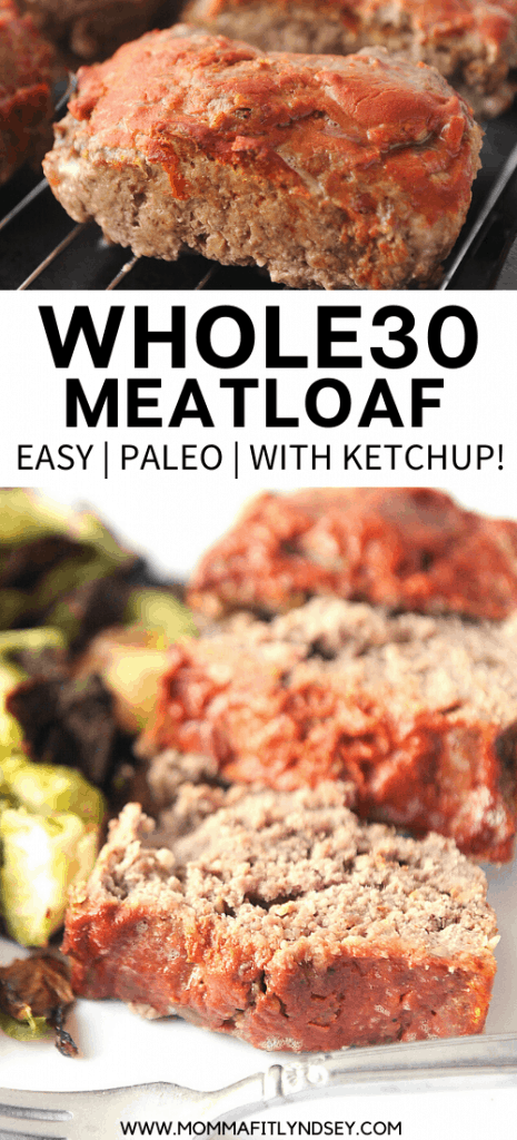 Whole30 Meatloaf Paleo Keto Gluten Free Momma Fit Lyndsey Recipe In 2020 Whole30 Meatloaf Recipes Macro Friendly Recipes