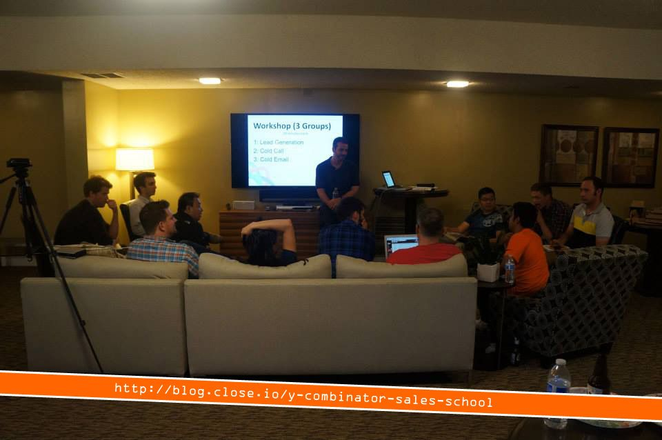 Another pic from our sales school event for Y Combinator alumni blog.close.io/... #startups #sales #hustle #ycombinator