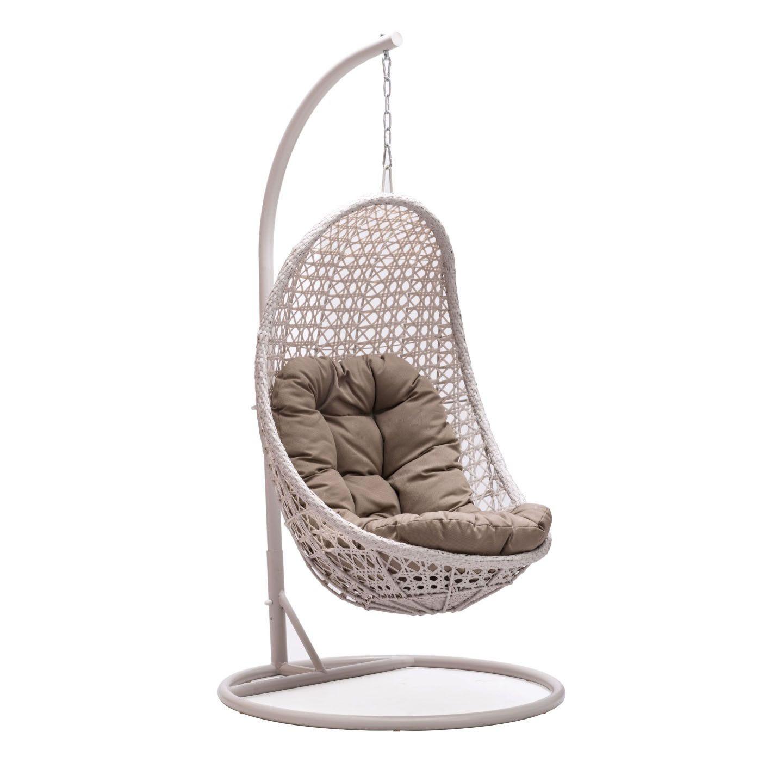 Zuo Modern 703105 Sheko Cradle Chair This Sheko Cradle Chair By Zuo Modern  Has A Pearl Finish. Your Cushiu2026