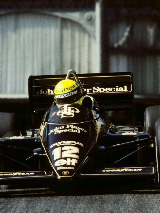 Lotus 97T   Monaco GP 1985   #12 Ayrton Sena   ab