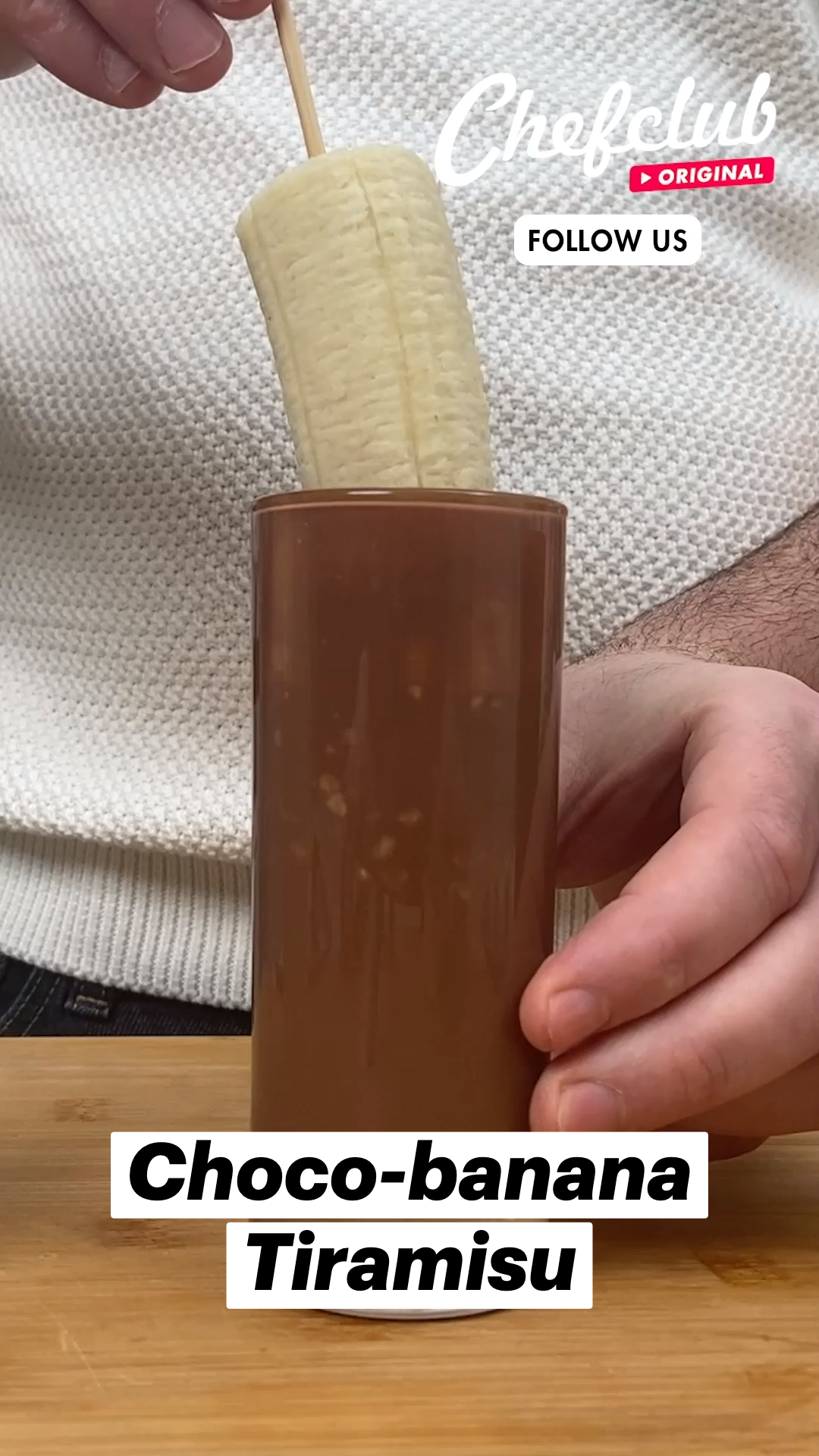 Choco-banana Tiramisu