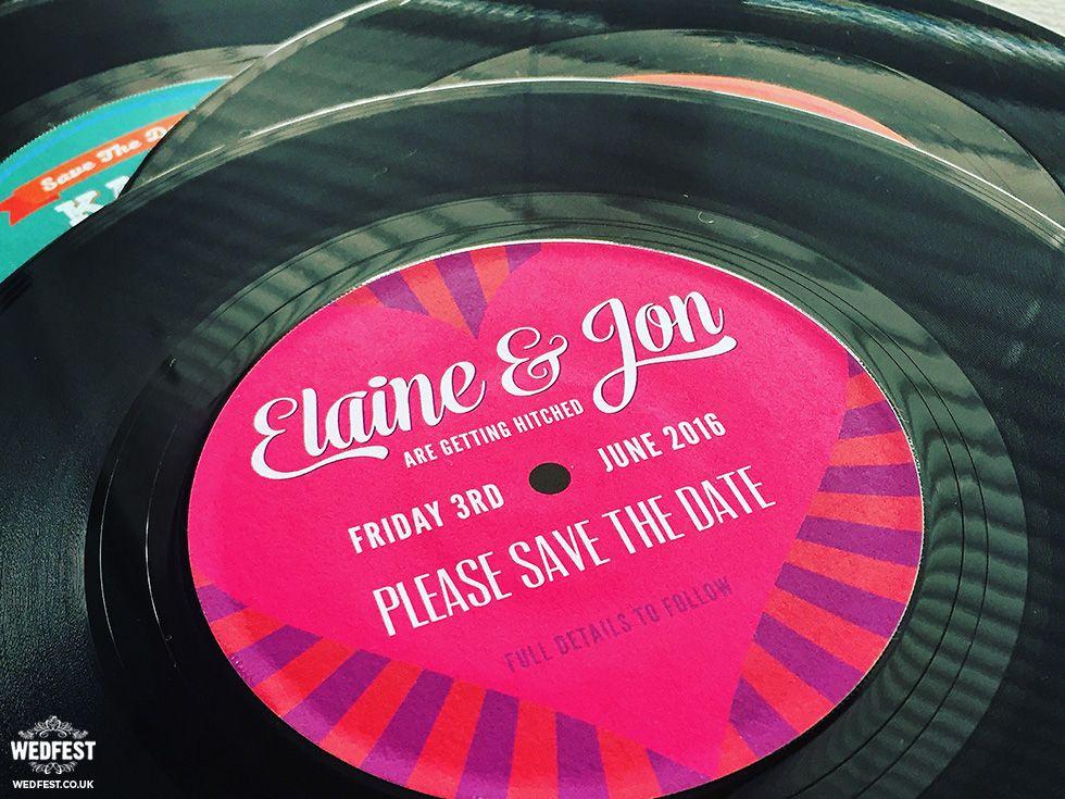 wedding vinyl record invitation httpwwwwedfestcovinyl