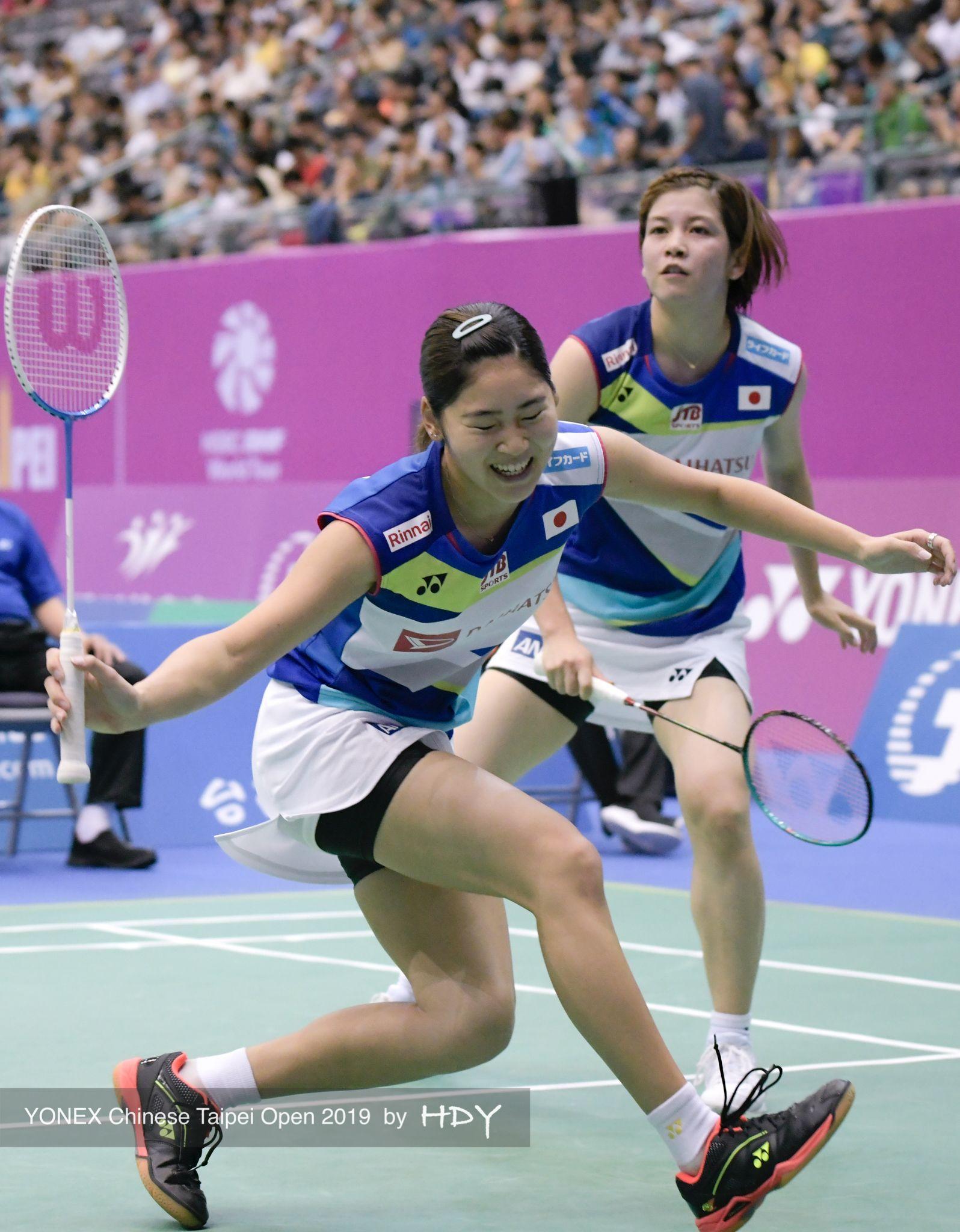 ボード badminton wd のピン