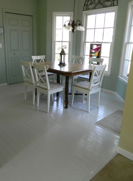 Working With Worn Out Hardwood Floors Painted Hardwood Floors Painted Wood Floors Painted