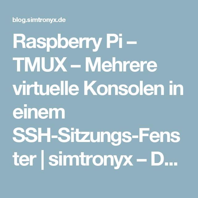 Pin Auf Raspberry Pi