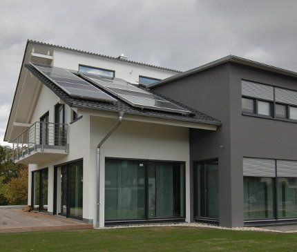 Fassadengestaltung einfamilienhaus beispiele  fassade002-1.jpg (430×365) | Fassade | Pinterest | Fassaden und Ritter