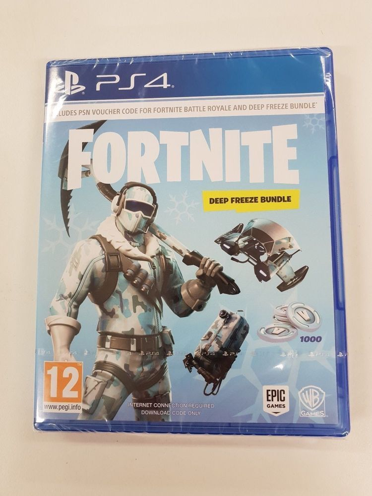 Fortnite Deep Freeze Bundle Is A Totally Brilliant Waste Of