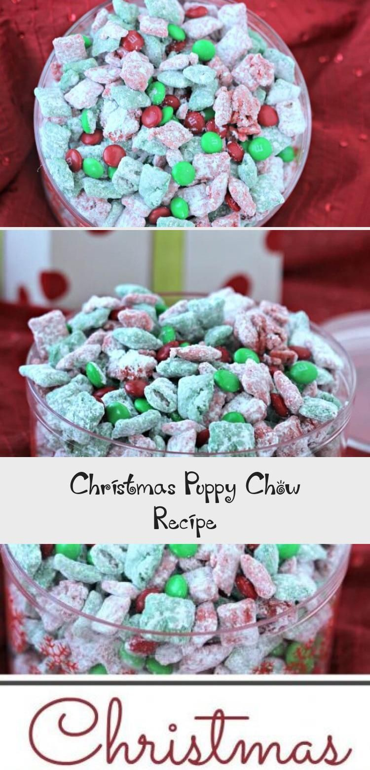 Christmas Puppy Chow Recipe puppychow This quick and easy