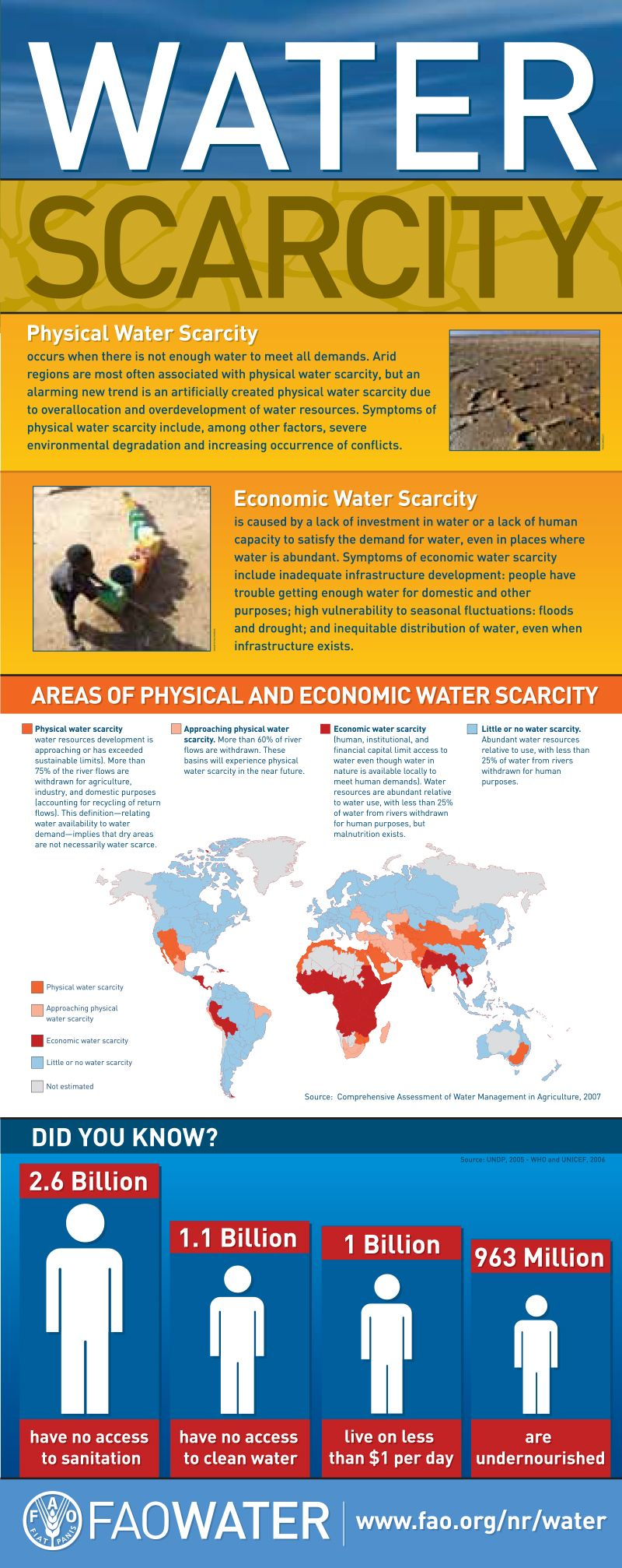 water scarcity essay Page 2 water scarcity essay around 700 million people in 43 countries suffer today from water scarcity by 2025, 1 8 billion people will be living in countries or regions with absolute water scarcity, and two-thirds of the world's population could be living under water stressed conditions.