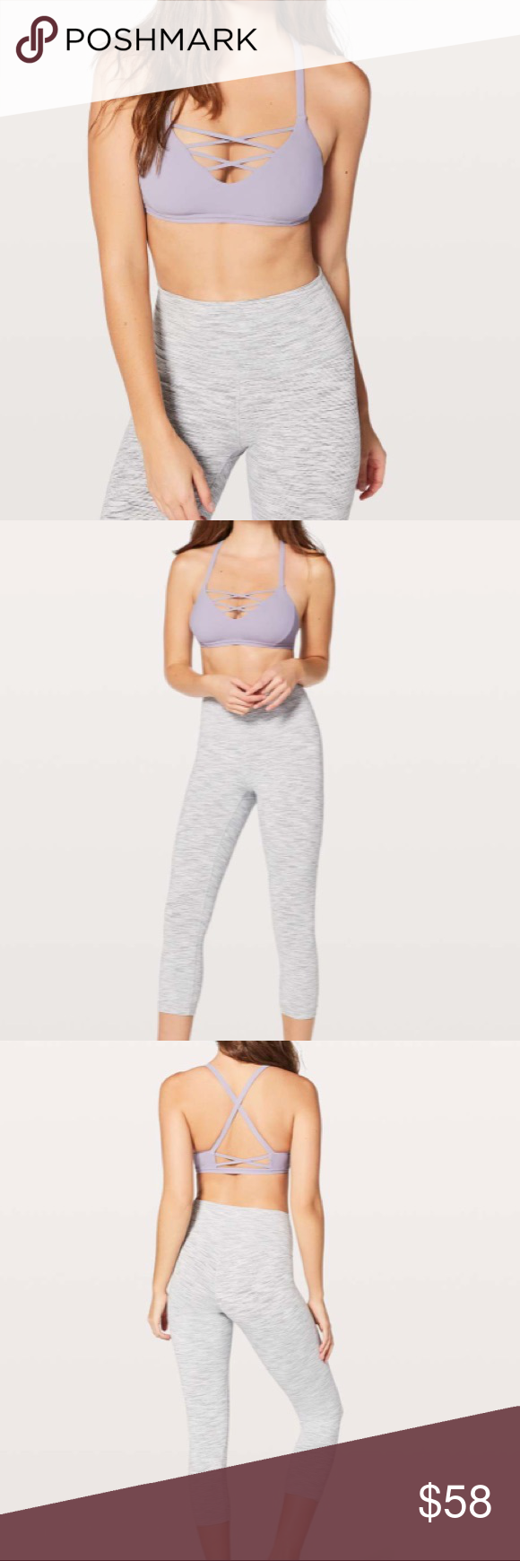 1de2f09f3d NEW • Lululemon • Laced with Intent Sports Bra - Lululemon - Laced with Intent  Sports