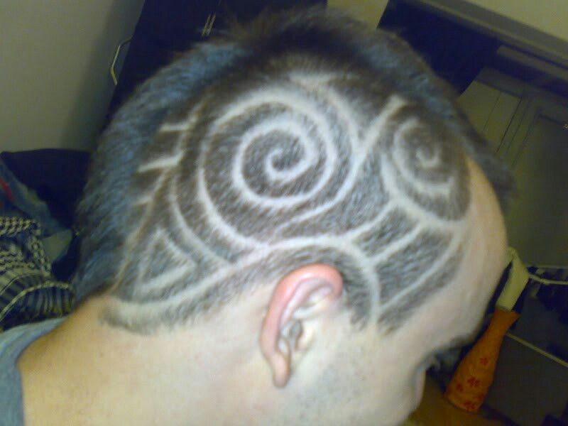 Pin By Darcy O Neil On Hair Tattoos Hair Tattoos Tribal Hair Tattoos