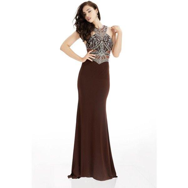 Jasz Couture 5995 Wedding Guest Dress Long Halter Sleeveless (26,545 ...