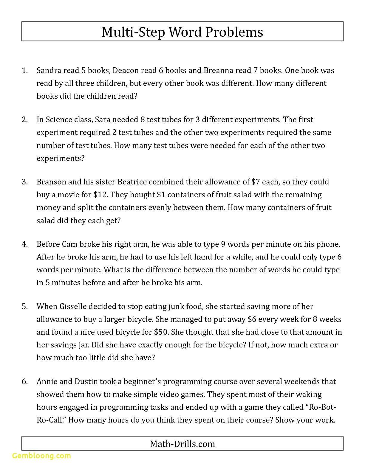 Best Of Addition Practice Worksheets Worksheet Printable In 2020 Word Problem Worksheets Fraction Word Problems Math Word Problems