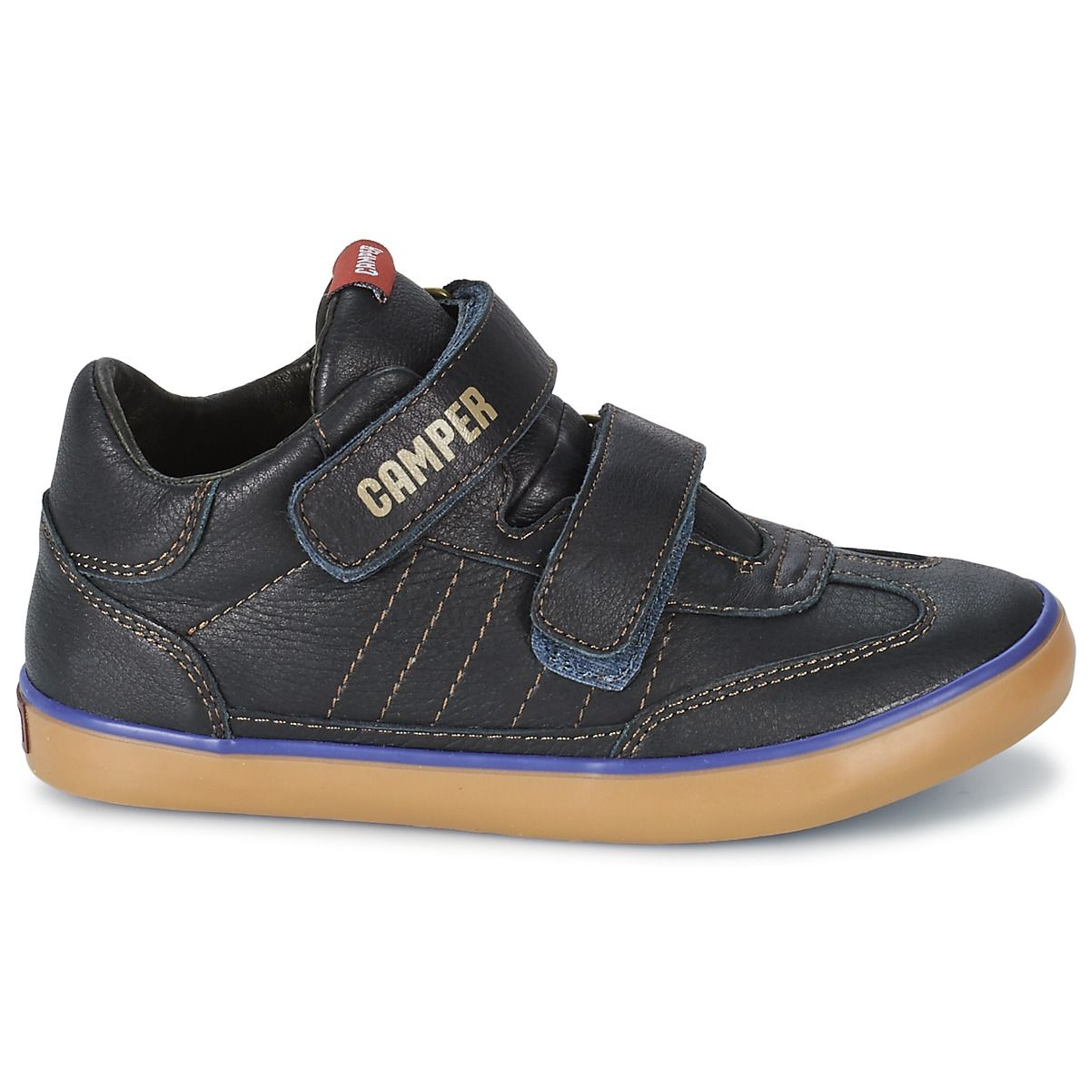 Excellent quality and comfort for kids with these leather trainers by Camper shoes #shoes #trainers #urban #fashion #leather #campershoes #kids #children #uk