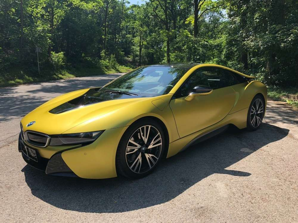 2018 Bmw I8 Protonic Frozen Yellow Edition Hybrid Coupe Top