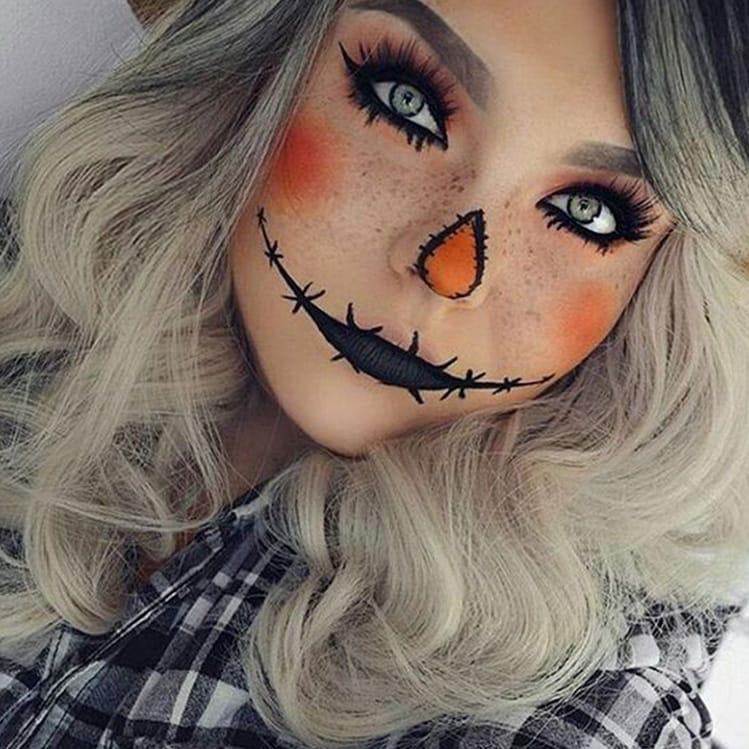 10 ideas sexys de maquillaje para Halloween Increíble