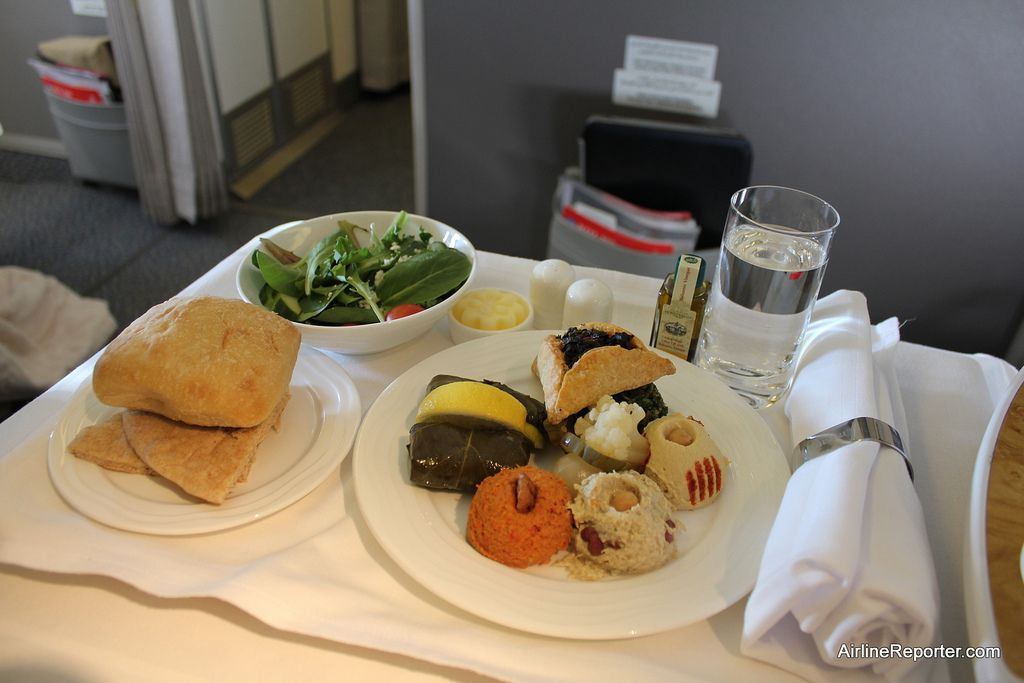 Emirates Business Class Food Emirates Business Clas...