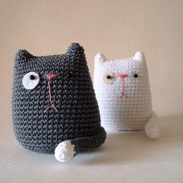Cat lovers, behold. | Tejido, Gato y Ganchillo