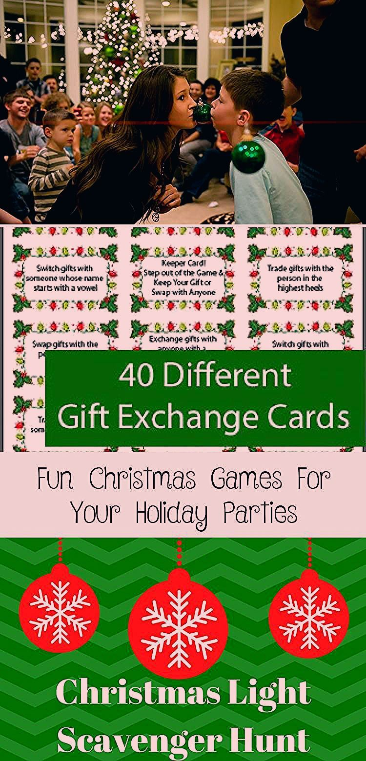Fun Christmas Games to Play at Your Holiday Parties-From printable games for kid... ,  #Chris...