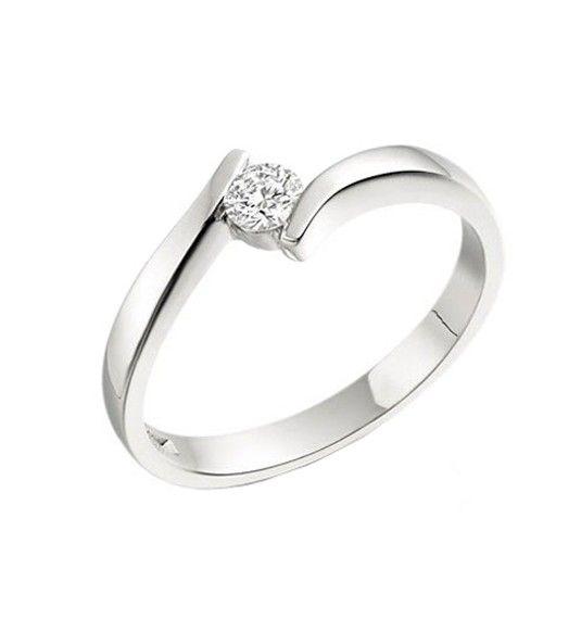 a6afab2879ca Solitario de diamantes modelo SABINE
