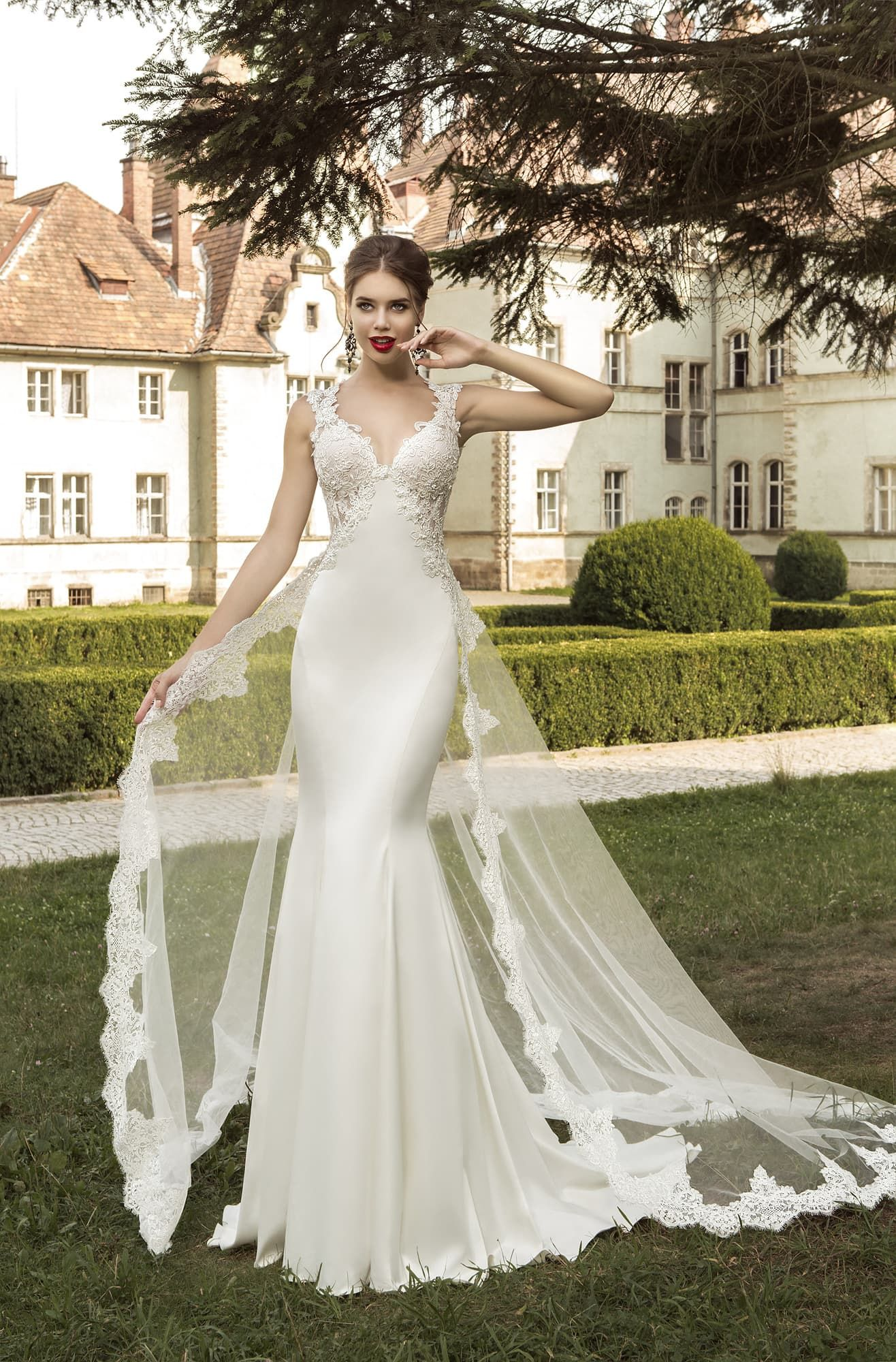 European-made wedding dress Sevilia in Charmé Gaby Bridal Gown ...