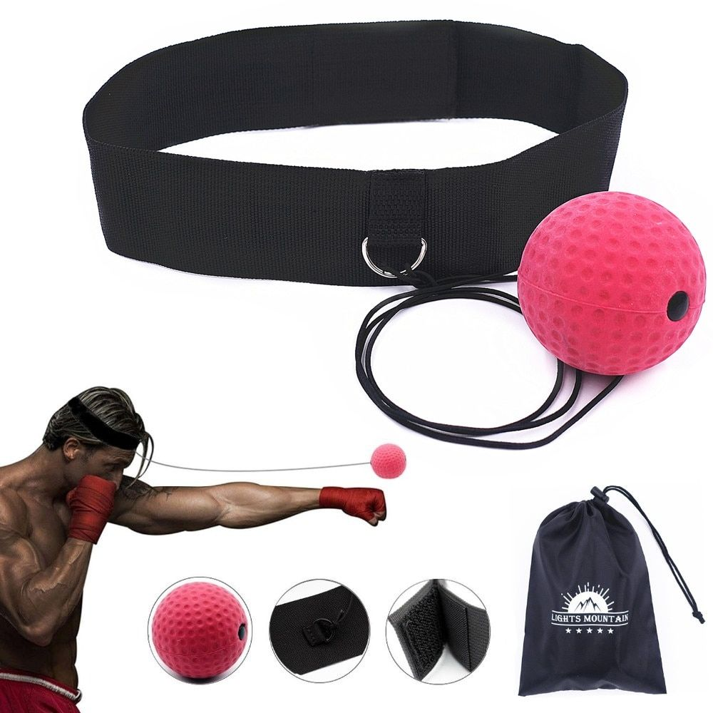 Boxing Reflex Speed Punch Ball Training Hand Eye