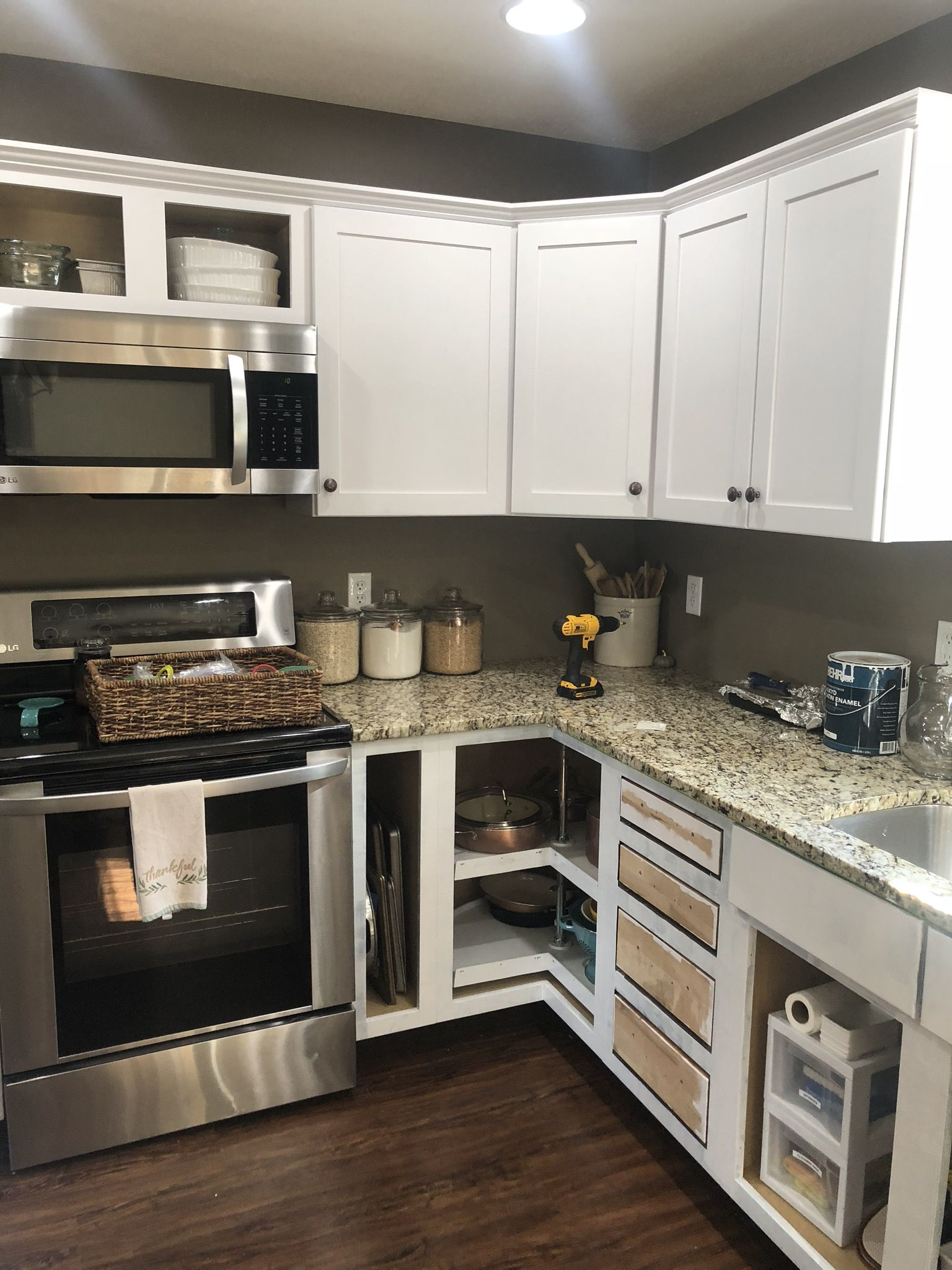 The Simple Way to Paint Kitchen Cabinets - The Simply ...