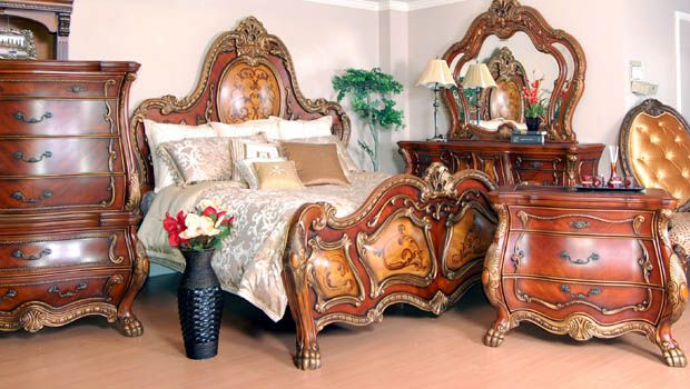 Mahogany And More Bedroom Sets Ornate French Rococo Bombe King Throughout Ornate  Bedroom Furniture Decorating