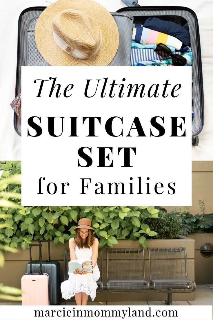 Photo of Chester Luggage Set for your Family Vacation | Marcie in Mommyland