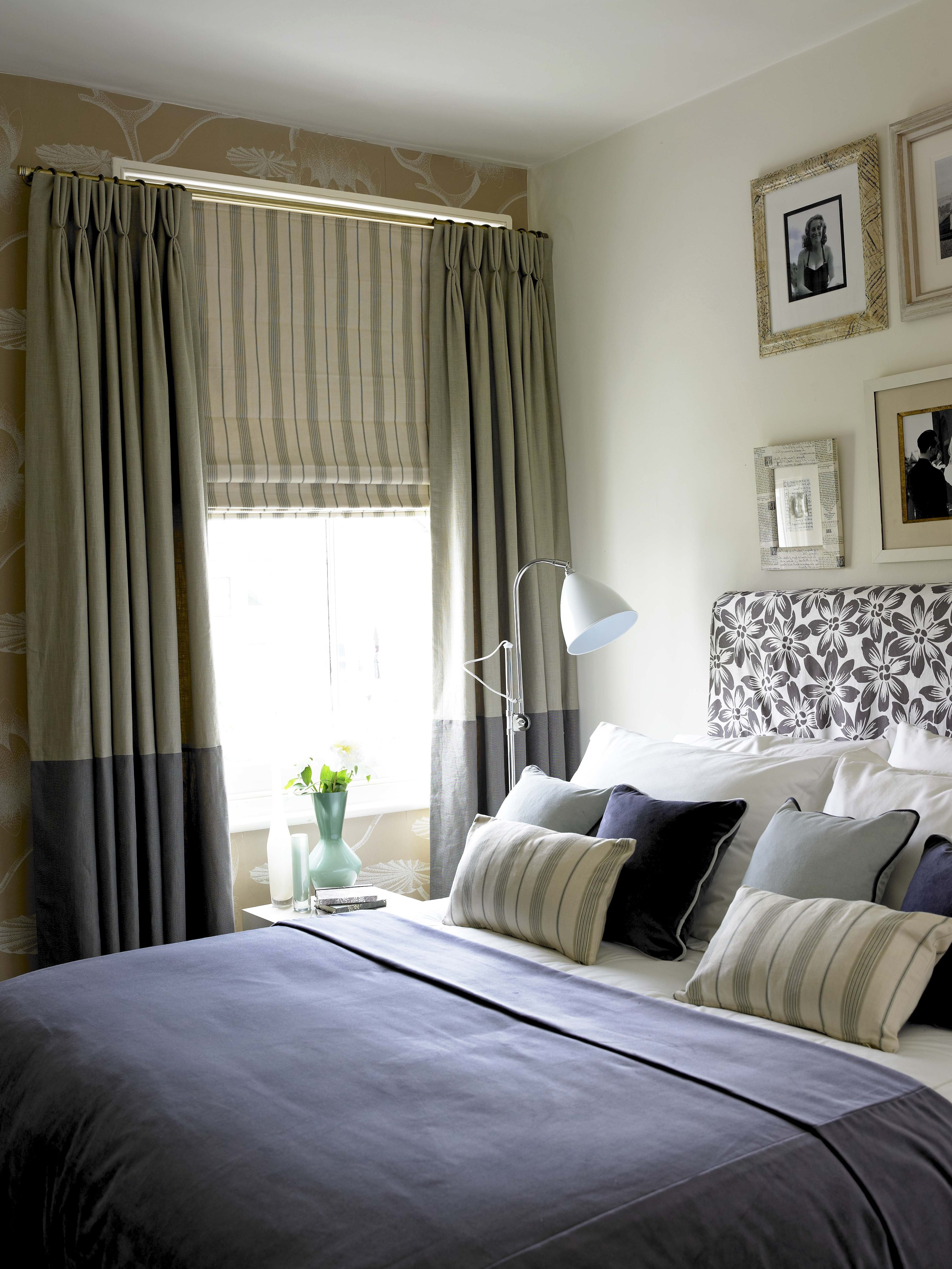 Blinds And Curtains Combination Bedroom Valance Ideas Curtain Drapery