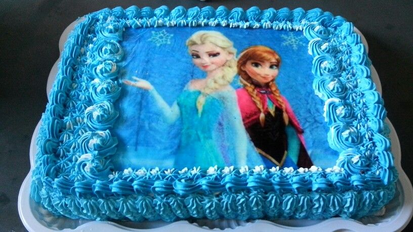 Bolo Frozen 2