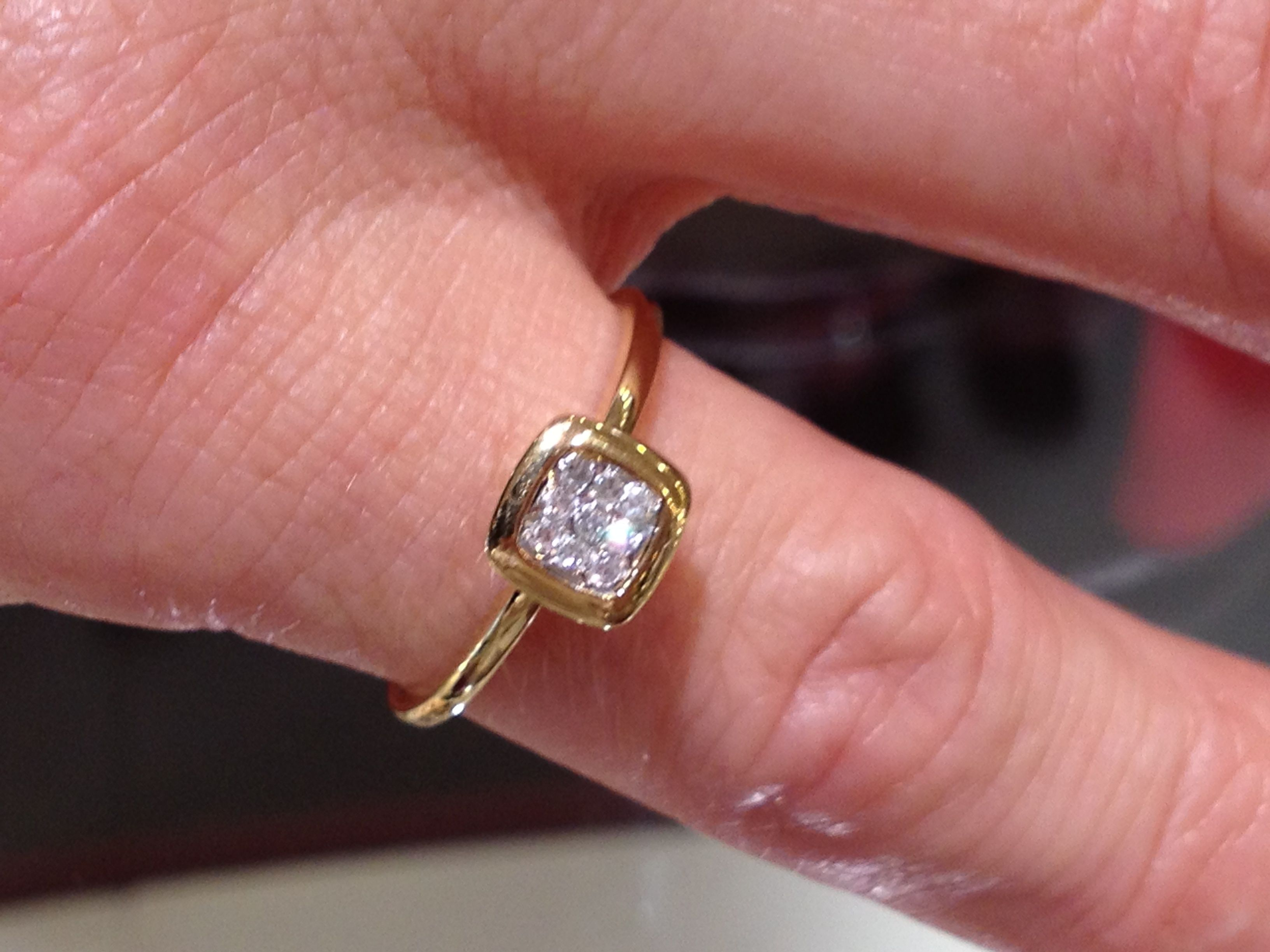 Ceri, Tamaine. Diamond ring, $500.00 | Pic Your Prize | Pinterest