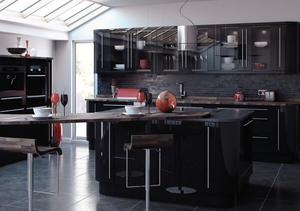 Pin On Lacquer Kitchen Cabinets