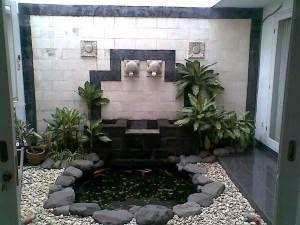 indahnya kolam ikan minimalis di pekarangan rumah anda