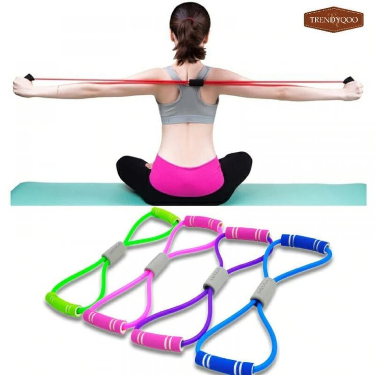 2019 Hot Yoga Fitness Resistance Elastic Bands    #Bands #Elastic #Fitness #Hot #Resistance #Yoga