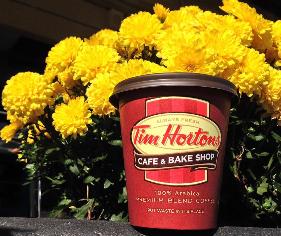 We invite you to embrace autumn at Timmies!