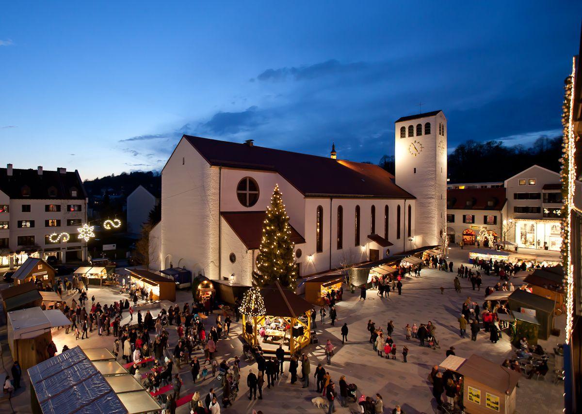 Kloster Andechs Weihnachtsmarkt.Weihnachtsschmuck Kunsthandwerk Kulinarisches Und Musik