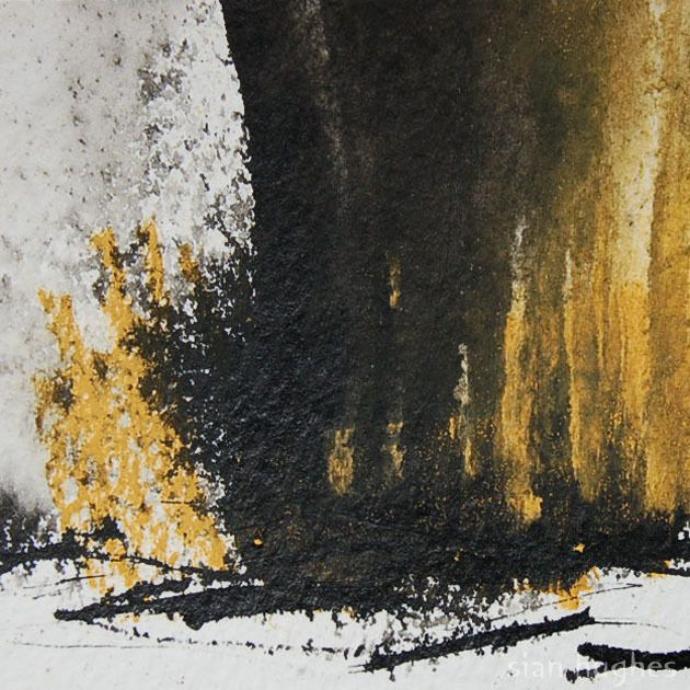 FIRE! Original Abstract Landscape Painting, by siansburys via Folksy, £8.00