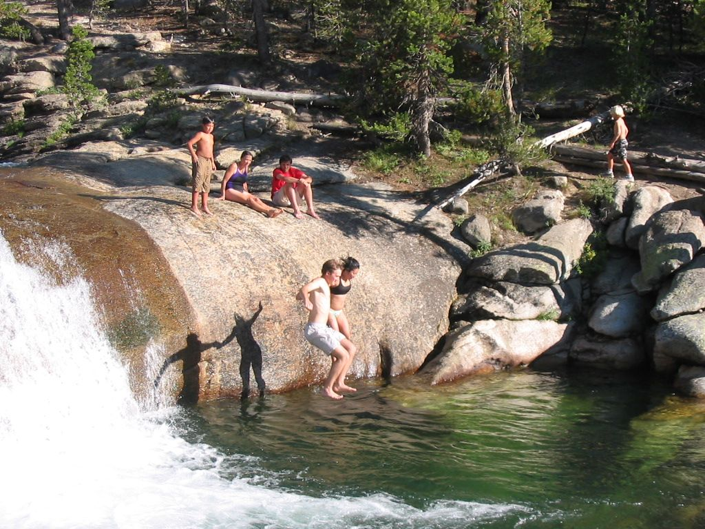 Soaking With Naked People at the Deep Creek Hot Springs