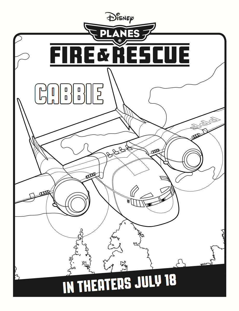 Cabbie Coloring Page | Coloring Pages | Pinterest
