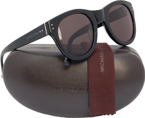 7efc00fa7fd Michael Kors MKS825 Monroe Sunglasses Black (001) MKS 825 001 Italy  Authentic Michael Kors.  159.50