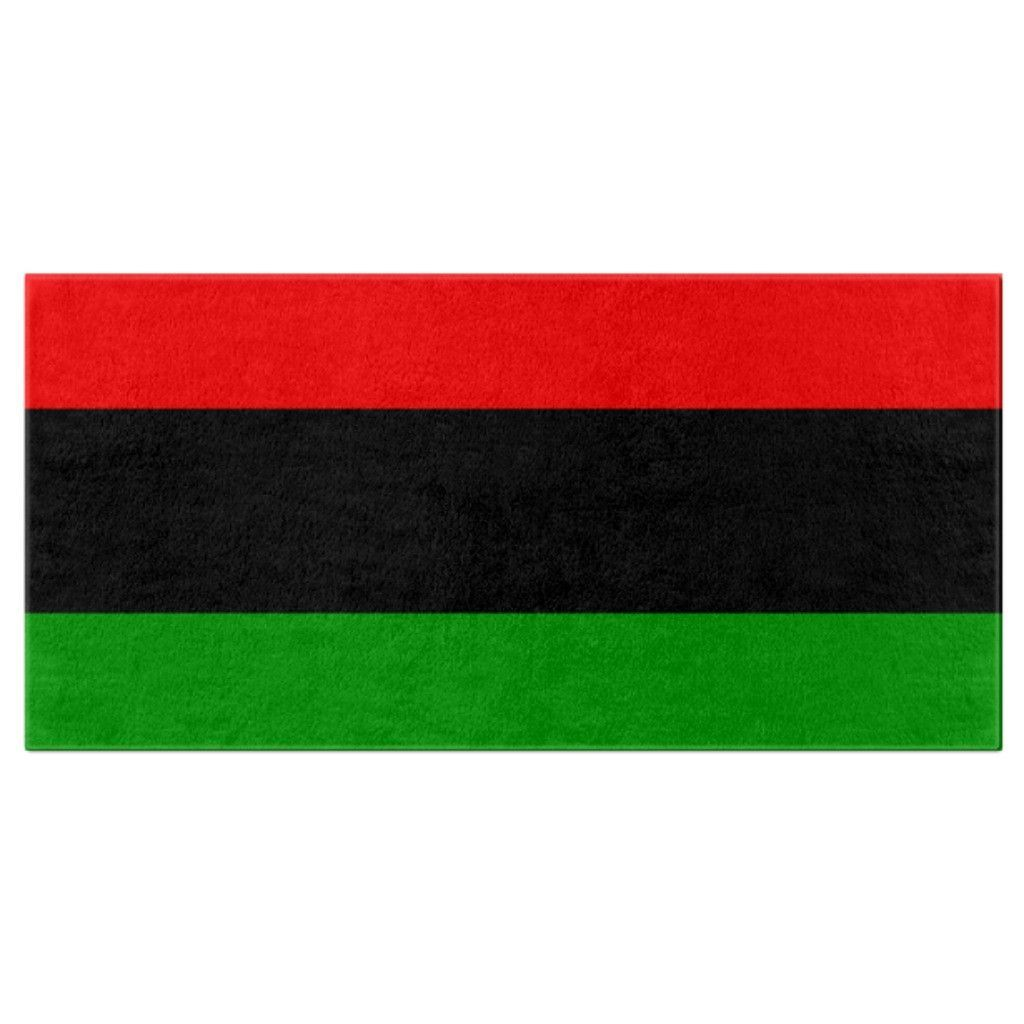Rbg Flag Bath Towel Blackgirlmagic Blackowned Nomad Blackqueen God Shopblack Accessories Pyramids Pillows Mensappare Bath Towels Relaxing Bath Towel