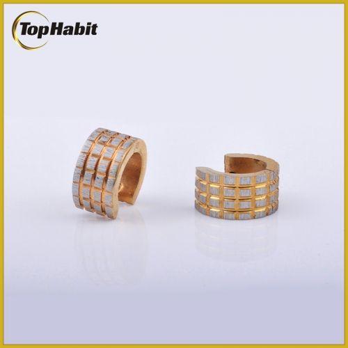 TH022gold-unique-grid-design-hoop-earrings