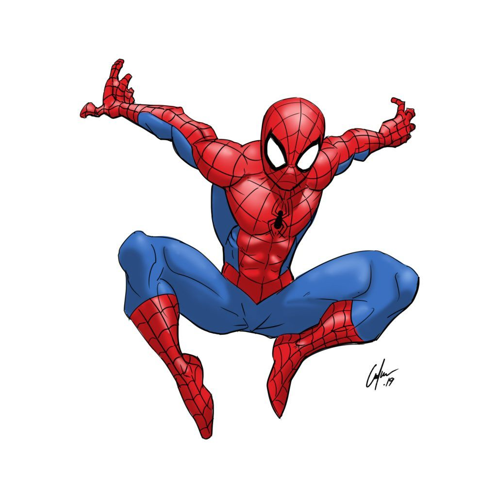 3 Ways to Draw Spiderman - Improveyourdrawings.com