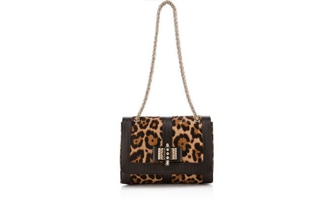 Sweet Charity Small Leopard bag by @christianlouboutin.com