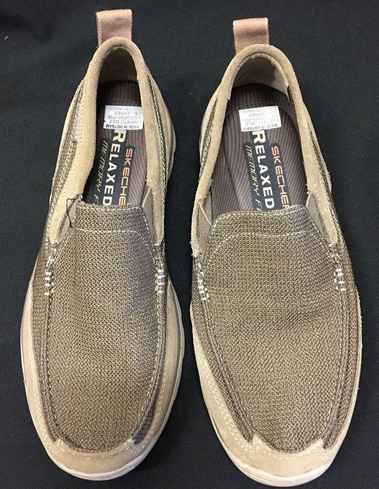 Skechers Relaxed Fit Memory Foam Men's Shoe UK 8 US 9 Slip