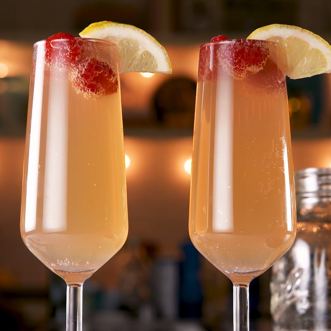 Arnold Palmer Mimosas #lemonade