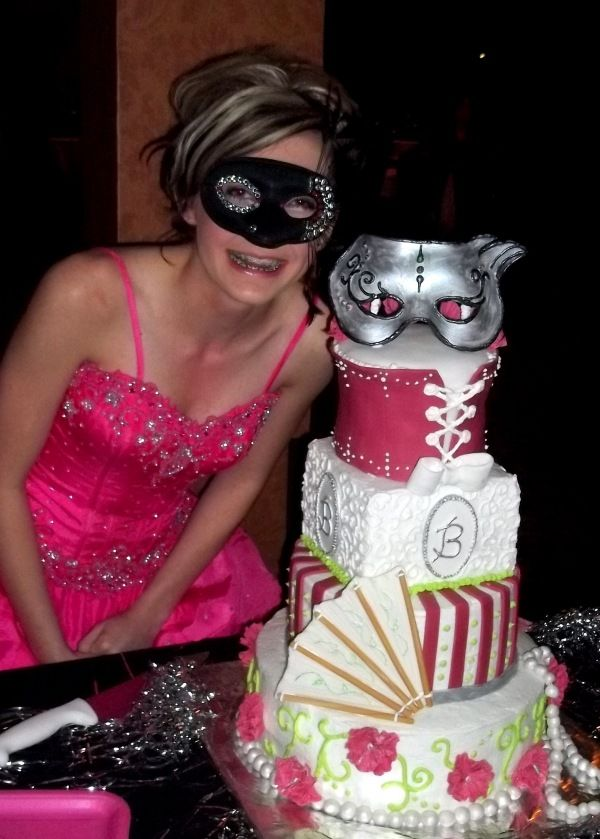 Peachy The Cakes And Their Special People Masquerade Cakes Sweet Funny Birthday Cards Online Alyptdamsfinfo