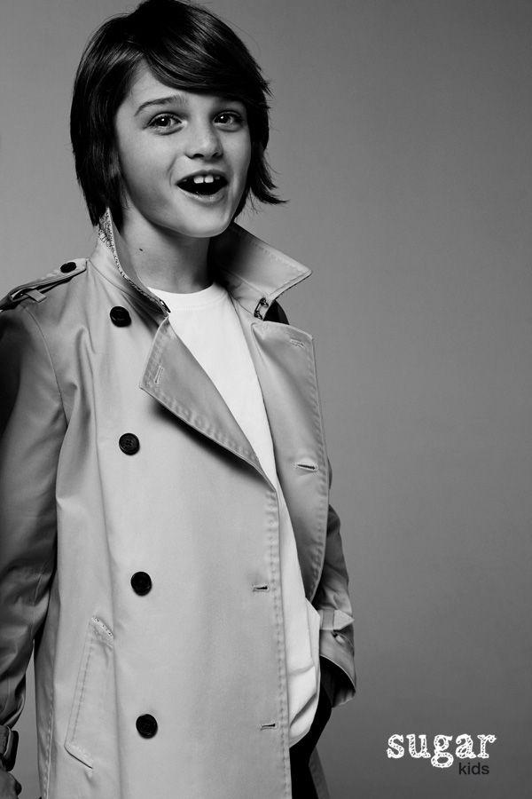 "Leo from Sugar Kids for Carolina Herrera ""The Trench Coat""."